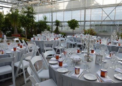 Botanical Center - table setting