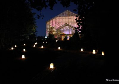 Botanical Center in the evening