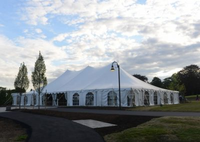 Tent in Roger Williams Park