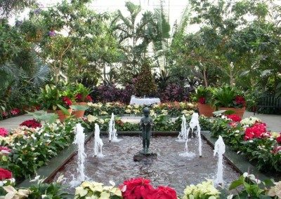 Botanical Center Fountain