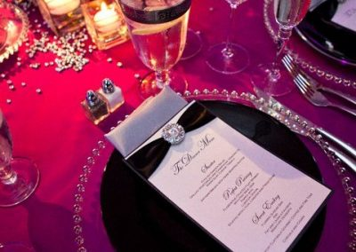 Tent - Table Setting