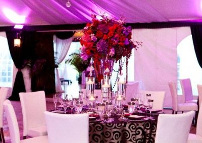 Tent Space Table Setting